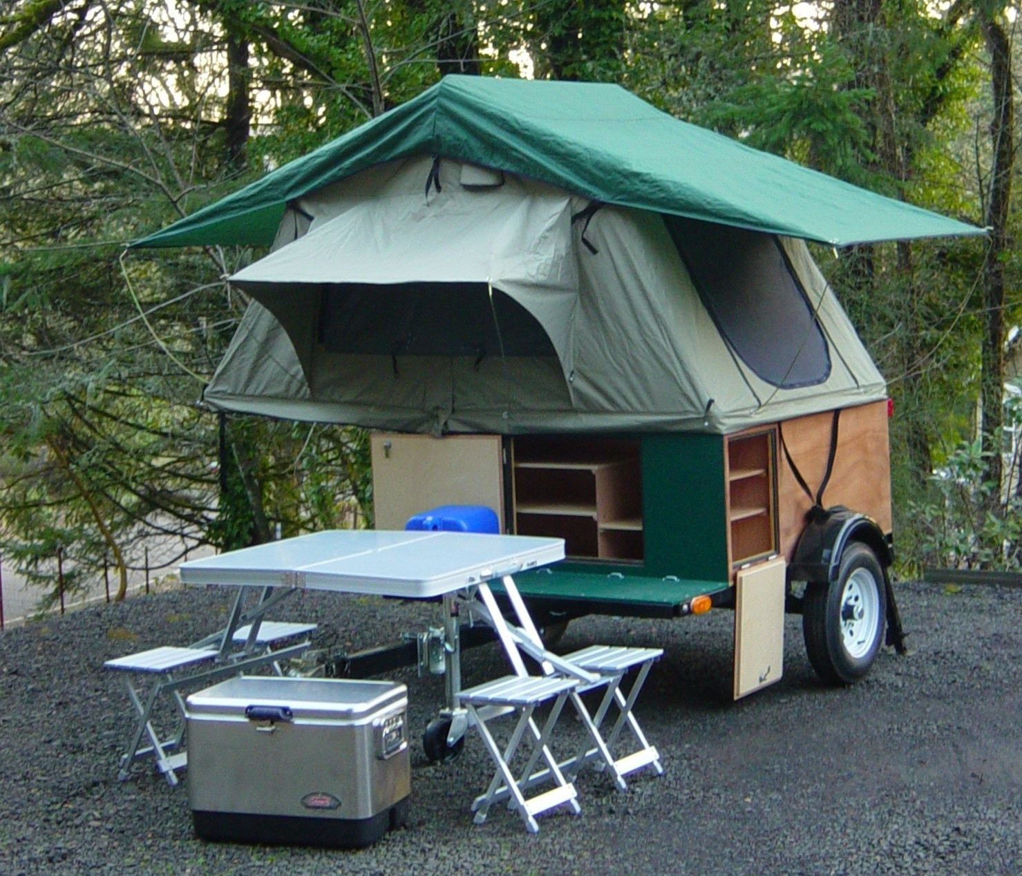 Best ideas about DIY Tent Trailer . Save or Pin DIY Explorer Box Camping Trailer Now.