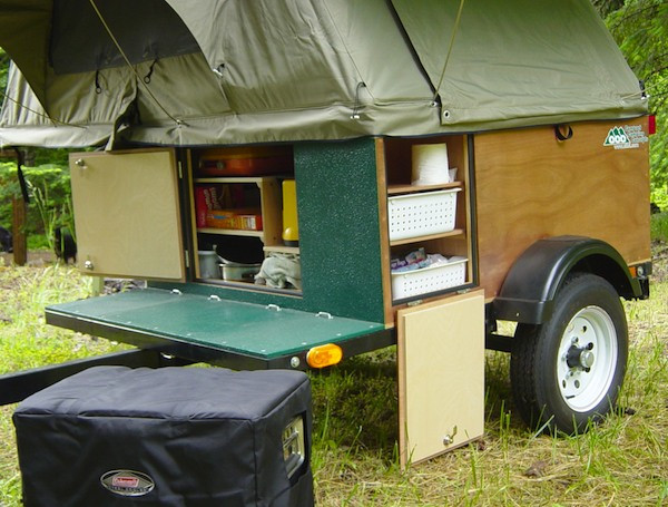 Best ideas about DIY Tent Trailer . Save or Pin DIY Tent Campers You Can Build on a Tiny Trailer Now.