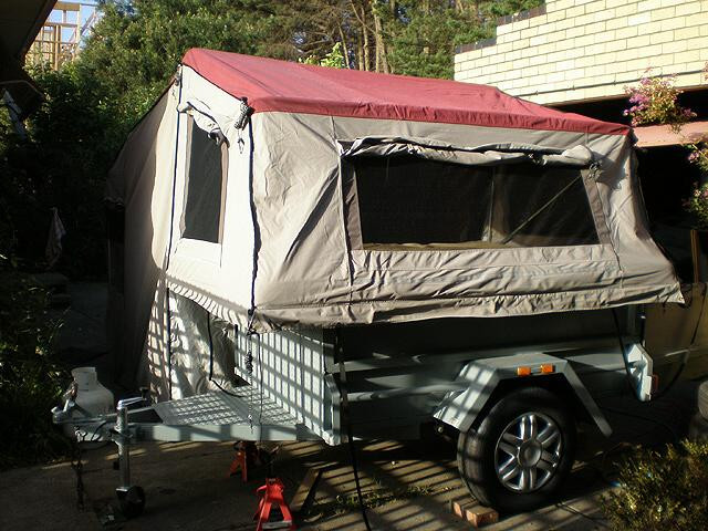 Best ideas about DIY Tent Trailer . Save or Pin Homemade Tent Trailer & 1945 Homemade Popup From Vintage C Now.