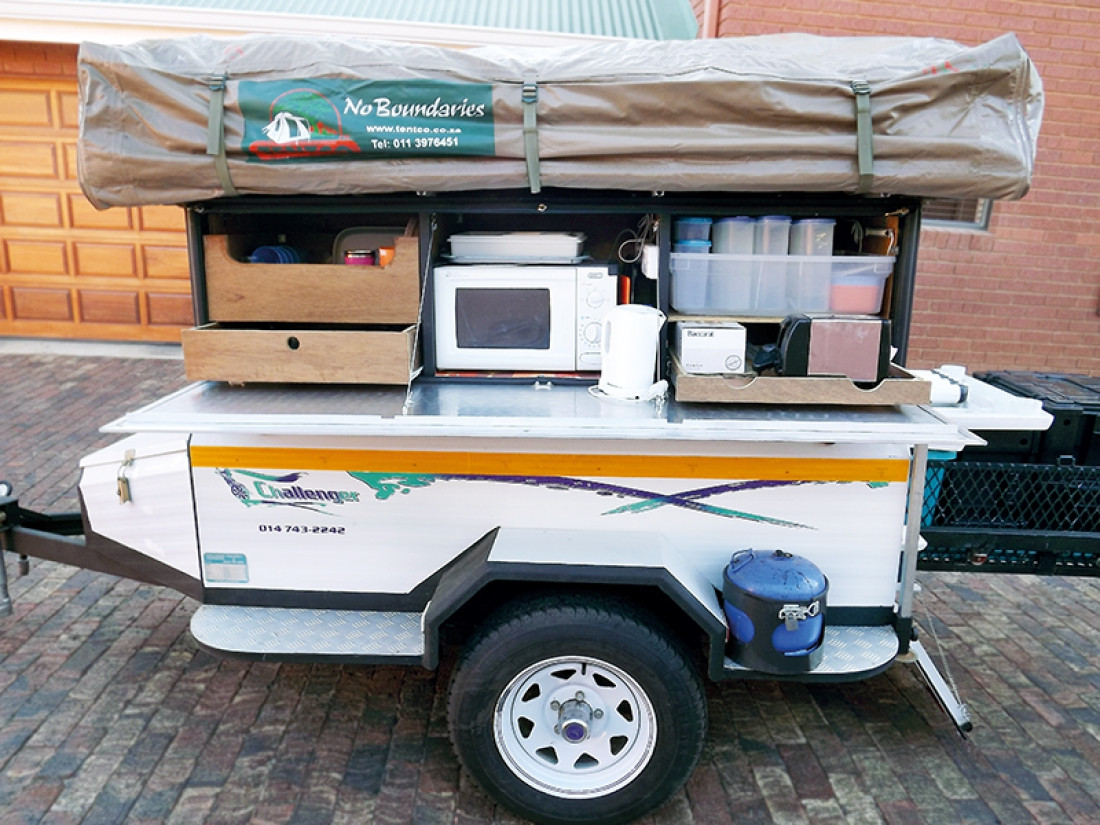 Best ideas about DIY Tent Trailer . Save or Pin Reader DIY Tent Trailer Built For Namibia Caravan Now.