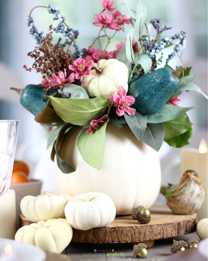Best ideas about DIY Thanksgiving Table Decorations . Save or Pin Easy Thanksgiving Table Decorations Now.