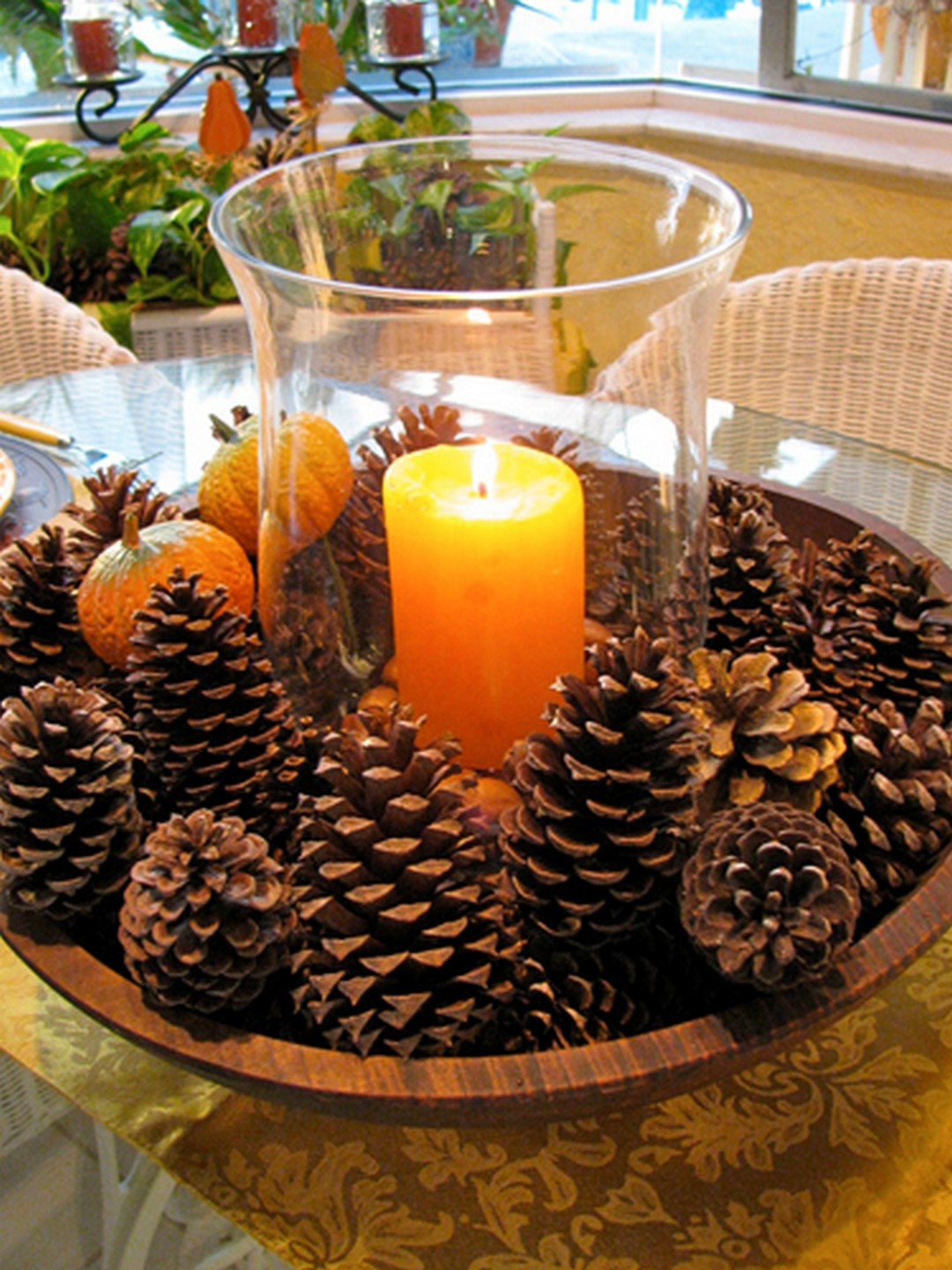 Best ideas about DIY Thanksgiving Table Decorations . Save or Pin 10 Creative and Easy DIY Thanksgiving Decorations Now.