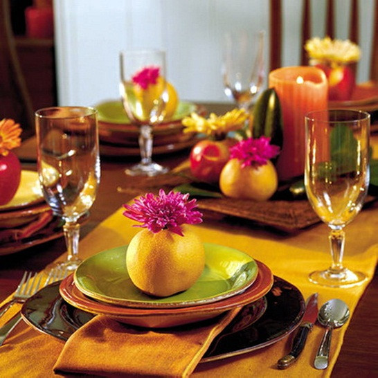 Best ideas about DIY Thanksgiving Table Decorations . Save or Pin 21 DIY Thanksgiving decorations and centerpieces savoring Now.