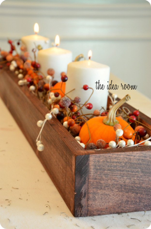 Best ideas about DIY Thanksgiving Table Decorations . Save or Pin 15 Amazing DIY Thanksgiving Table Decor Ideas To Get You Now.