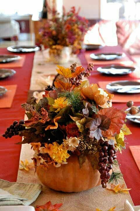 Best ideas about DIY Thanksgiving Table Decorations . Save or Pin 25 Beautiful Fall Wedding Table Decoration Ideas Style Now.