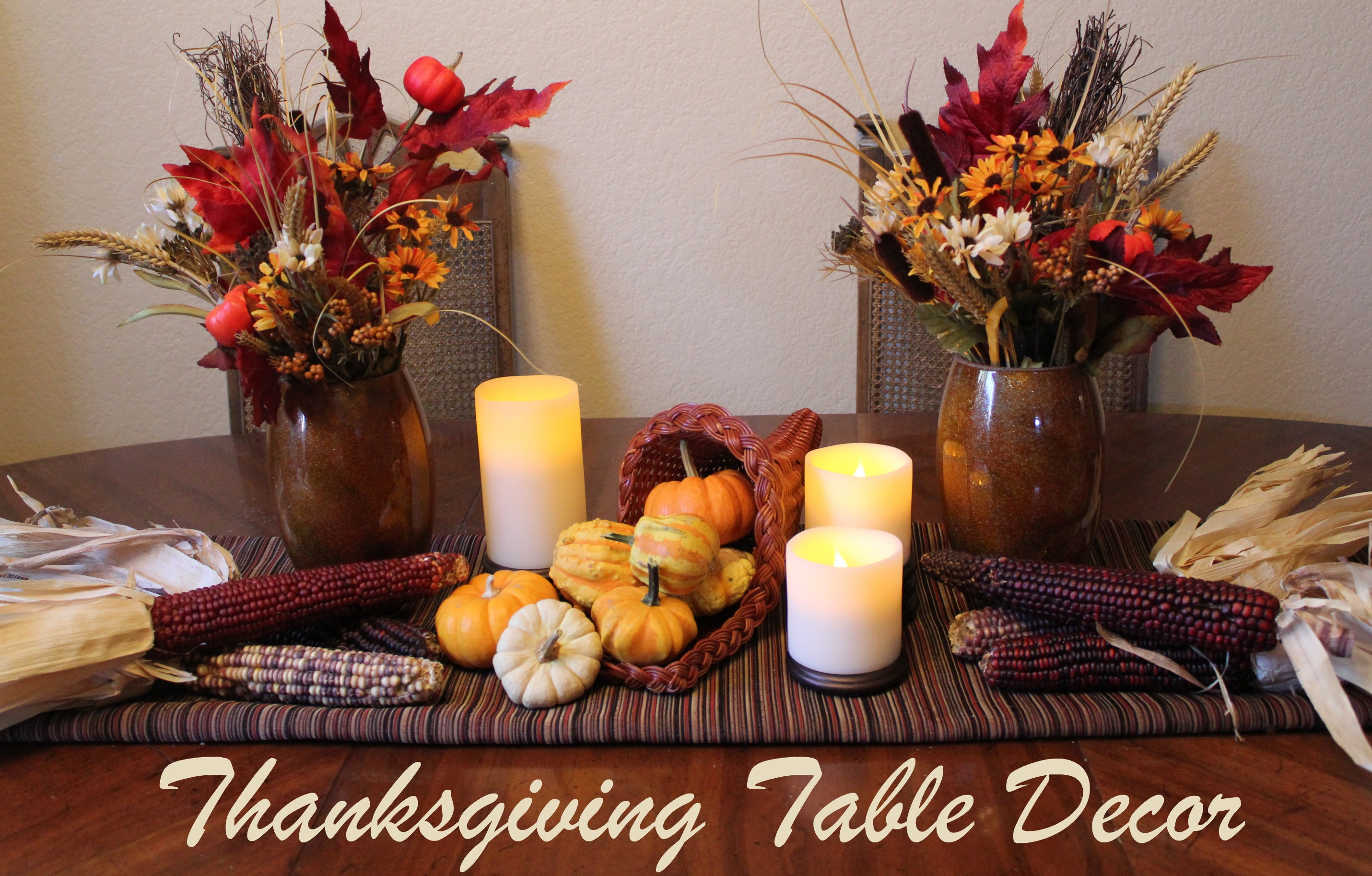 Best ideas about DIY Thanksgiving Table Decorations . Save or Pin Cornucopia of Creativity DIY Thanksgiving Table Decor Now.