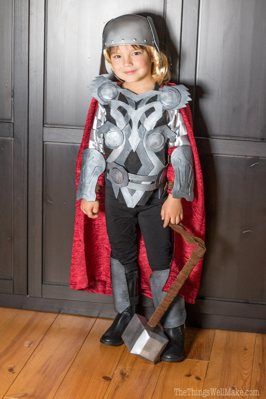 Best ideas about DIY Thor Costume . Save or Pin DIY Thor Costume Oh The Things We ll Make Now.