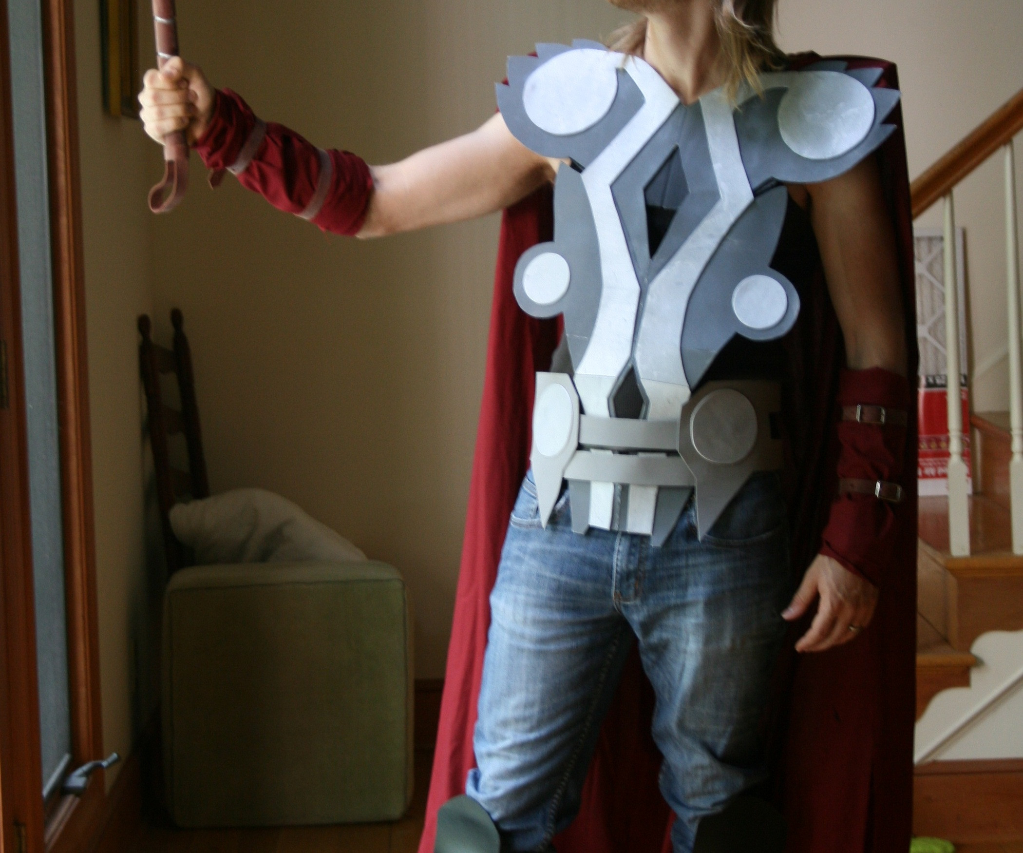 Best ideas about DIY Thor Costume . Save or Pin How to make a Thor Costume Now.