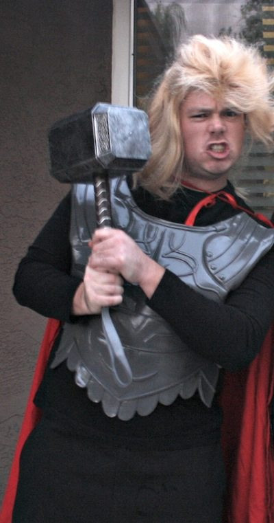 Best ideas about DIY Thor Costume . Save or Pin DIY Super Hero Costumes Wonder Woman and Thor Now.