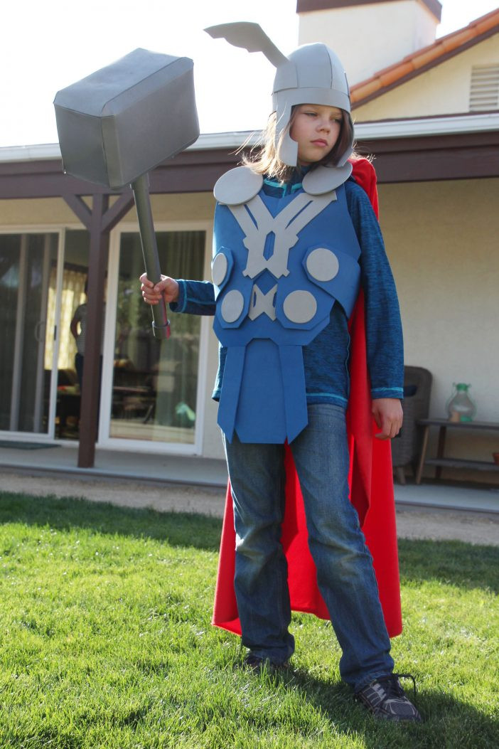 Best ideas about DIY Thor Costume . Save or Pin NO Sew DIY Thor Costume that you can make right now Now.