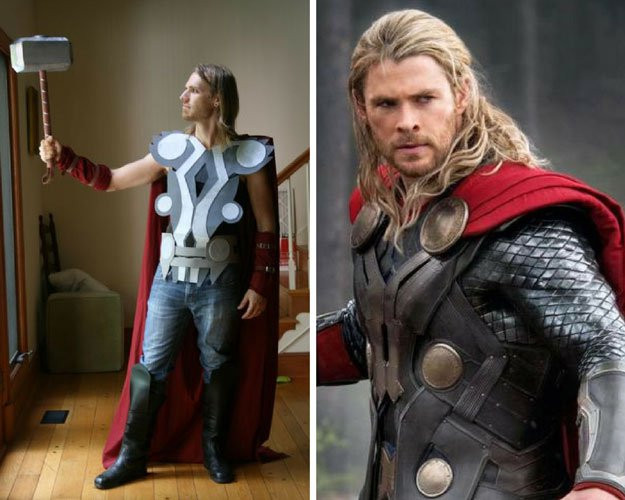 Best ideas about DIY Thor Costume . Save or Pin 20 DIY Superhero Costume Ideas Be e A Homemade Vigilante Now.