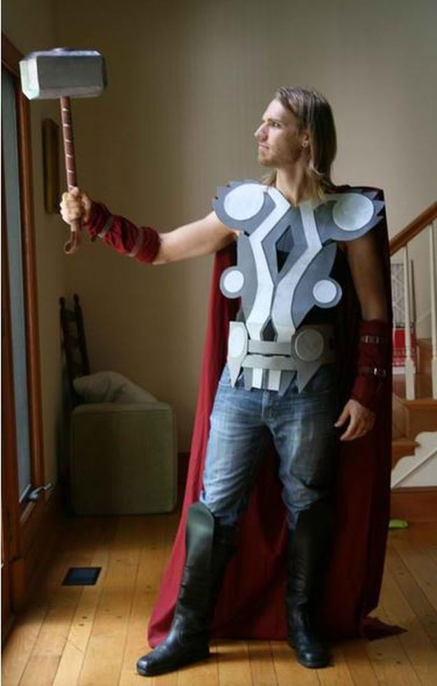 Best ideas about DIY Thor Costume . Save or Pin 20 DIY Superhero Costume Ideas Be e a Homemade Now.