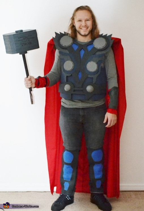Best ideas about DIY Thor Costume . Save or Pin DIY Thor Costume Now.