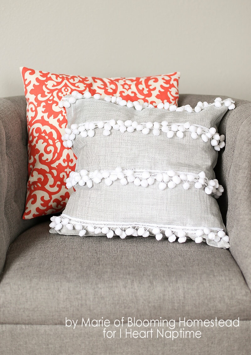 Best ideas about DIY Throw Pillows . Save or Pin DIY Anthro Inspired Pillow I Heart Nap Time Now.
