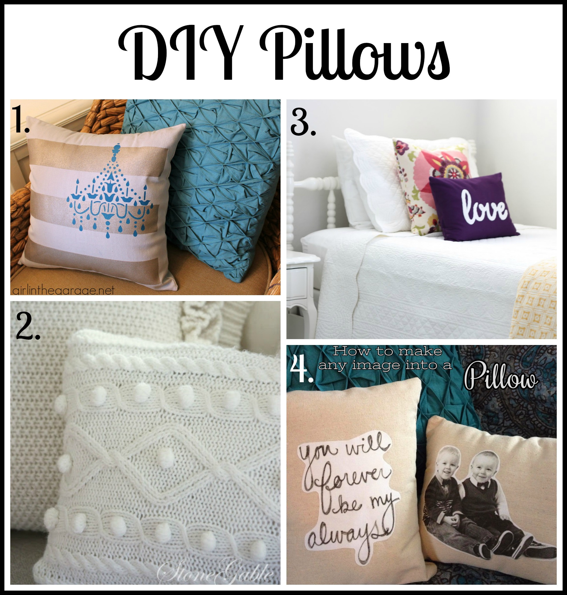 Best ideas about DIY Throw Pillows . Save or Pin 30 Bud Friendly DIY Decorating Ideas Now.