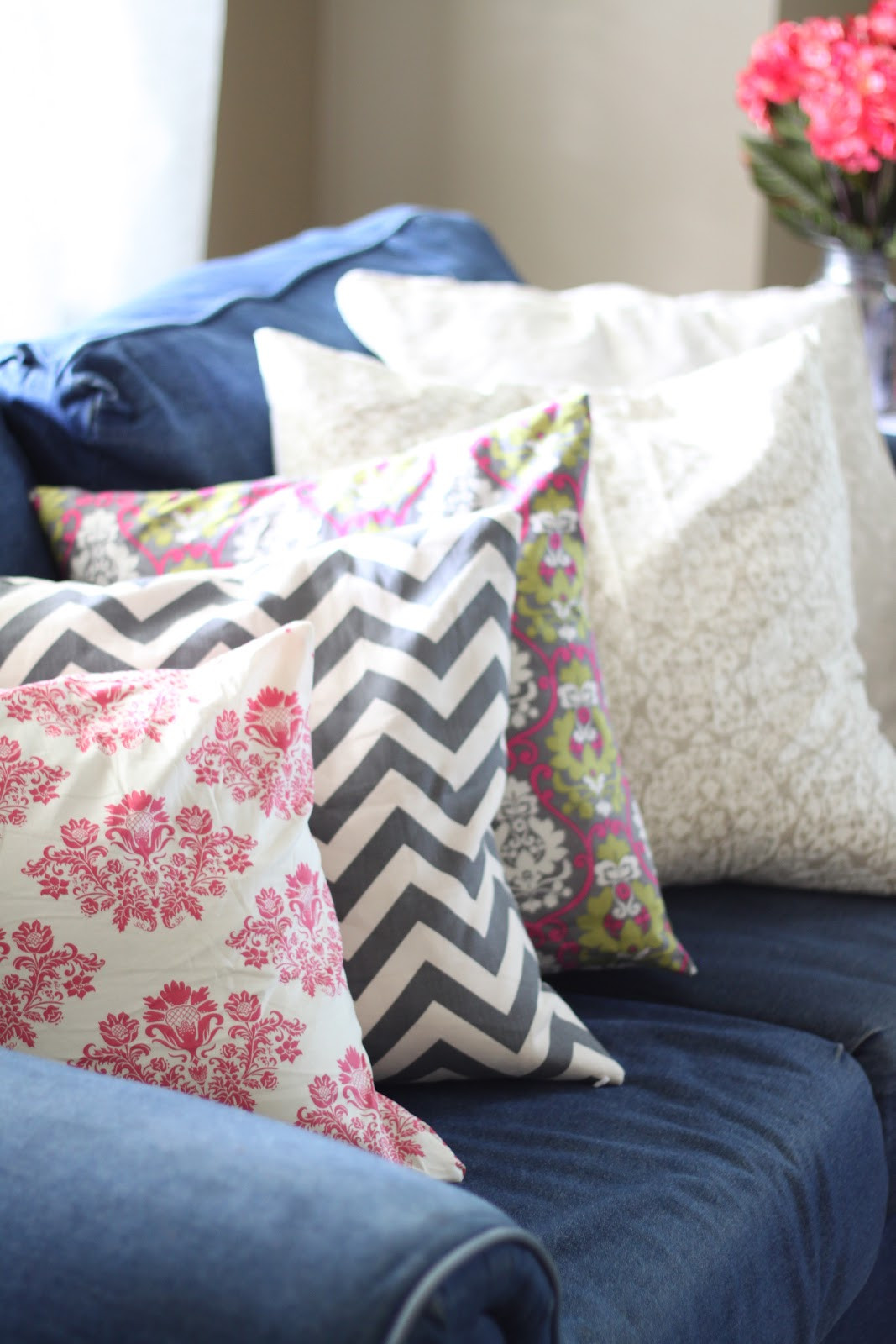 Best ideas about DIY Throw Pillows . Save or Pin do it yourself divas DIY Throw Pillows for My Denim Now.