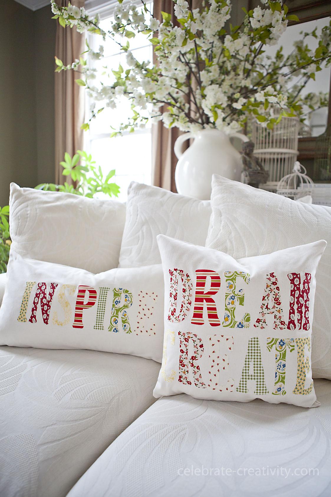 Best ideas about DIY Throw Pillows . Save or Pin DIY Inspiration Throw Pillows Now.