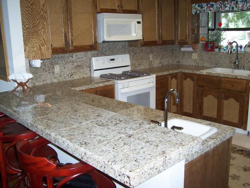 Best ideas about DIY Tile Countertops . Save or Pin Kitchen Countertop Ideas Choosing the Perfect Material Now.