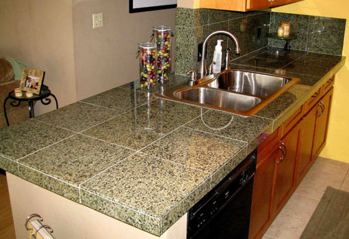 Best ideas about DIY Tile Countertops . Save or Pin How to Install a Granite Tile Countertop Now.