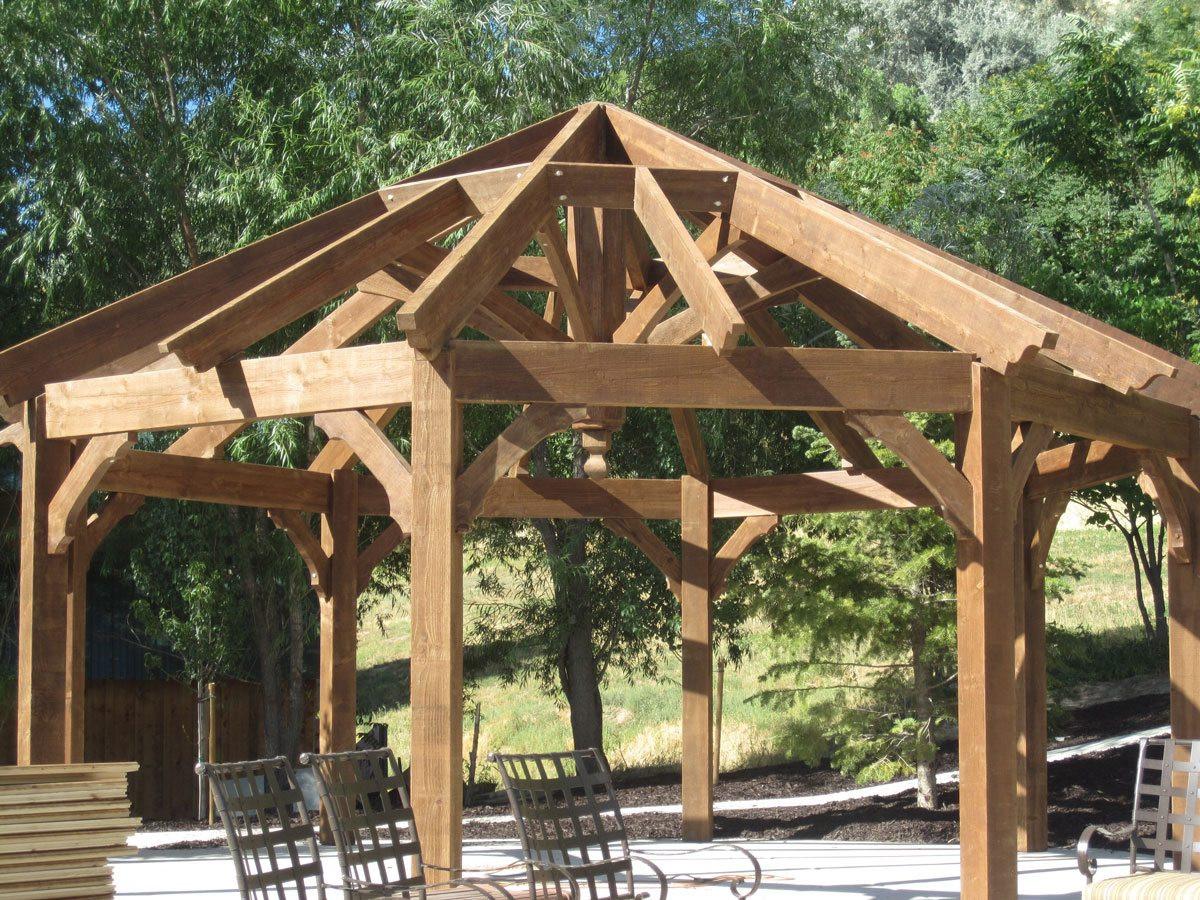 Best ideas about DIY Timber Frame Kit . Save or Pin DIY Gazebo Pergolas Swing Set & Picnic Table Now.