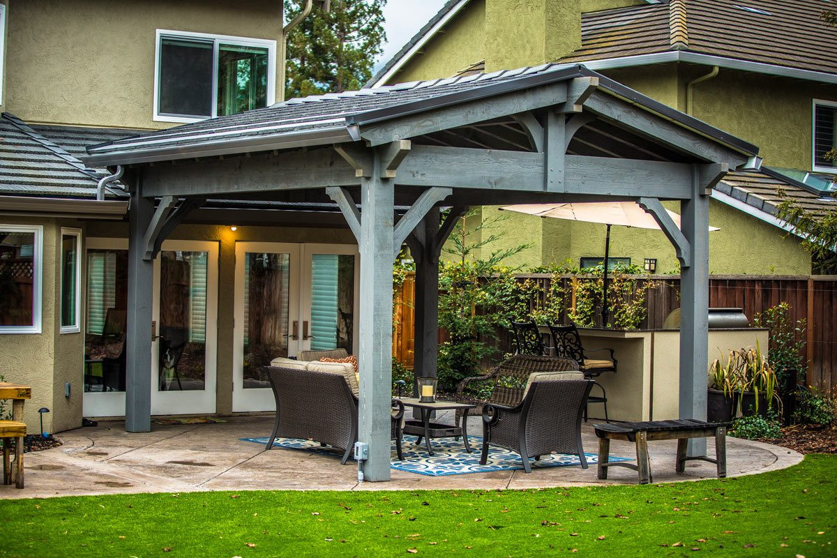 Best ideas about DIY Timber Frame Kit . Save or Pin Massive Timber Frame DIY Pavilion Kit Installed in Now.