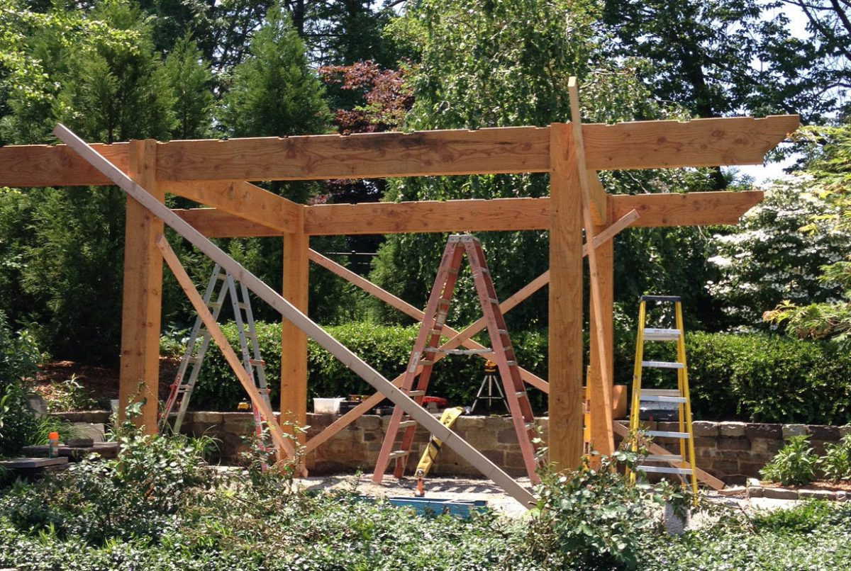 Best ideas about DIY Timber Frame Kit . Save or Pin What To Expect Start To Finish Diy Timber Frame Pergola Now.