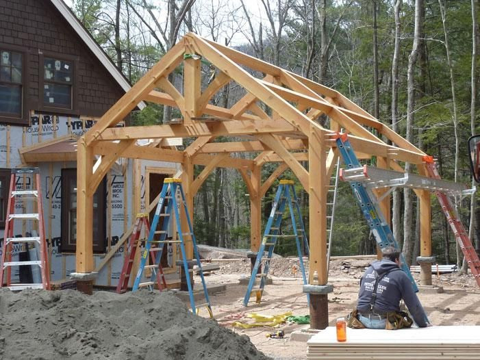 Best ideas about DIY Timber Frame Plans . Save or Pin timber frame shelter plans Now.