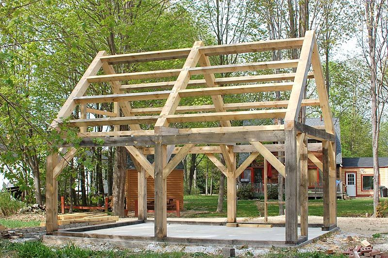 Best ideas about DIY Timber Frame Plans . Save or Pin timber frame structure homesteading Now.
