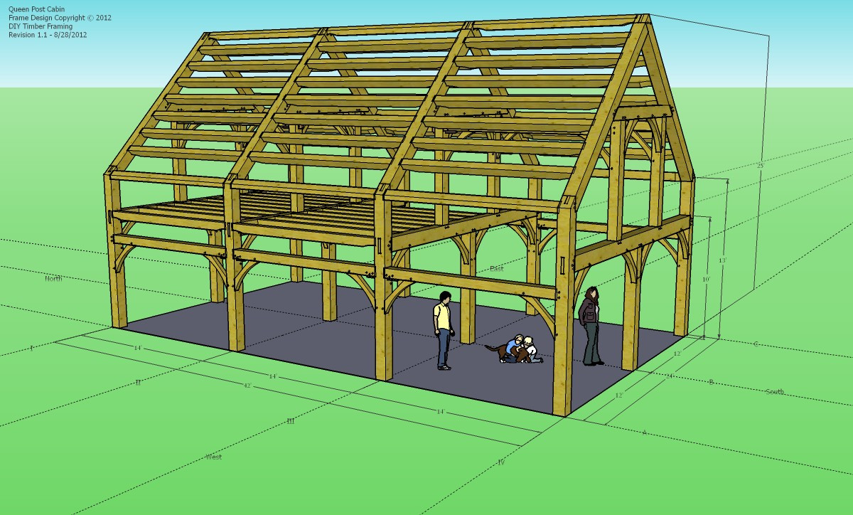 Best ideas about DIY Timber Frame Plans . Save or Pin Do It Yourself Timber Frame Plans How to Build DIY Now.