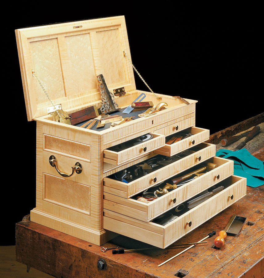 Best ideas about DIY Tool Chest Plans . Save or Pin Cabinetmaker s Tool Chest Now.