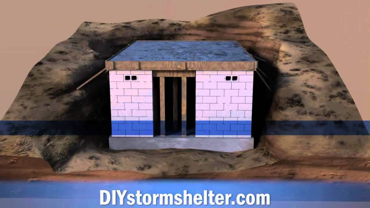 Best ideas about DIY Tornado Shelter . Save or Pin Concrete block DIY Storm Shelter 12x20 foot Now.