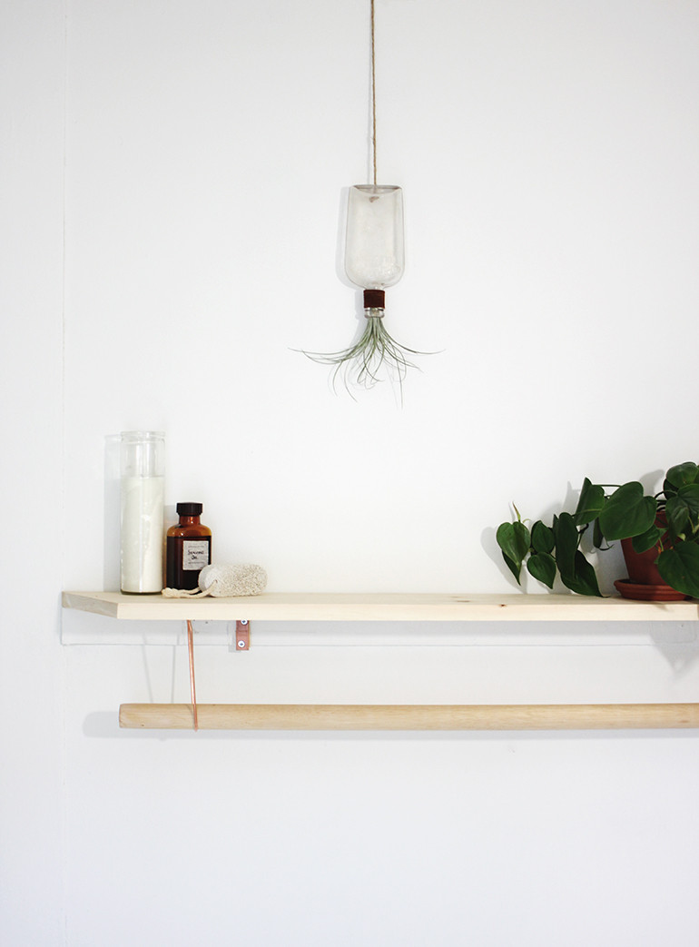 Best ideas about DIY Towel Rack . Save or Pin DIY Towel Rack & Shelf The Merrythought Now.