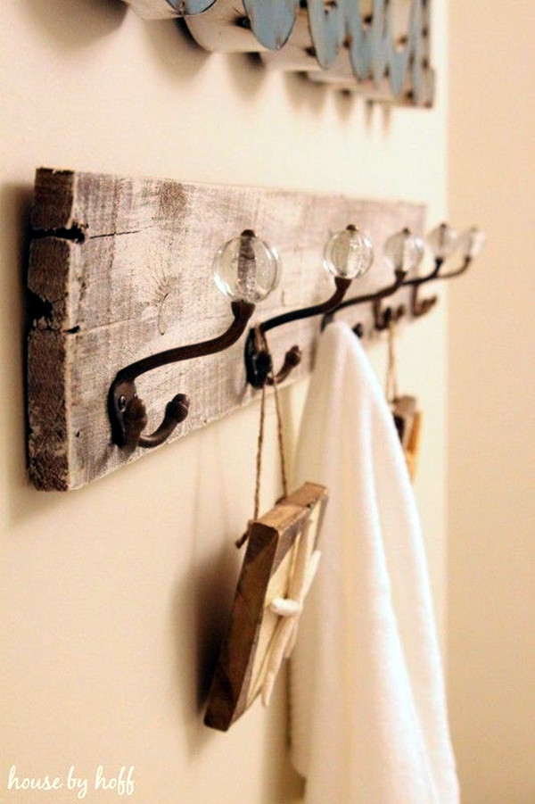 Best ideas about DIY Towel Rack . Save or Pin 40 Cool And Creative DIY Coat Rack Ideas Bored Art Now.