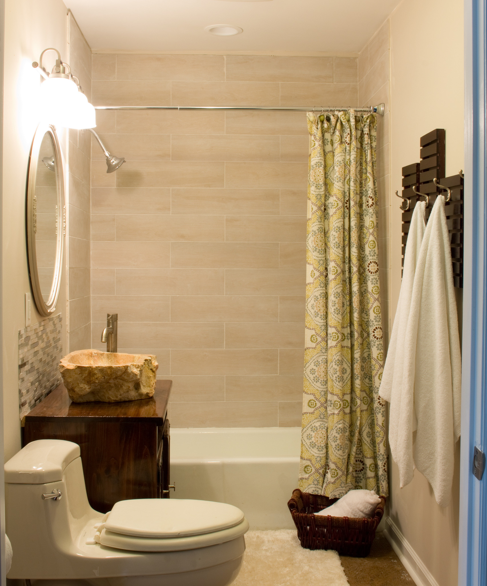 Best ideas about DIY Towel Rack . Save or Pin DIY Towel Rack Made From Shelves Thrift Store Upcycle Now.
