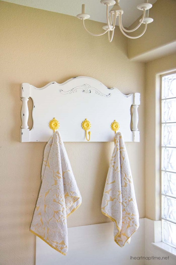 Best ideas about DIY Towel Rack . Save or Pin DIY Towel Racks For a Chic Bathroom Update Now.