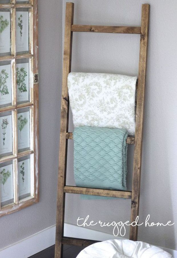 Best ideas about DIY Towel Rack . Save or Pin 10 Clever DIY Towel Racks • The Bud Decorator Now.