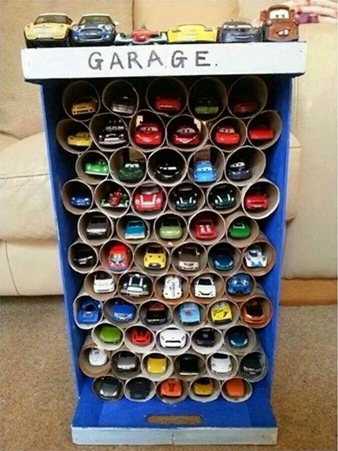 Best ideas about DIY Toy Car Garage . Save or Pin Homemade Toy Car Garage Kids Pinterest Now.