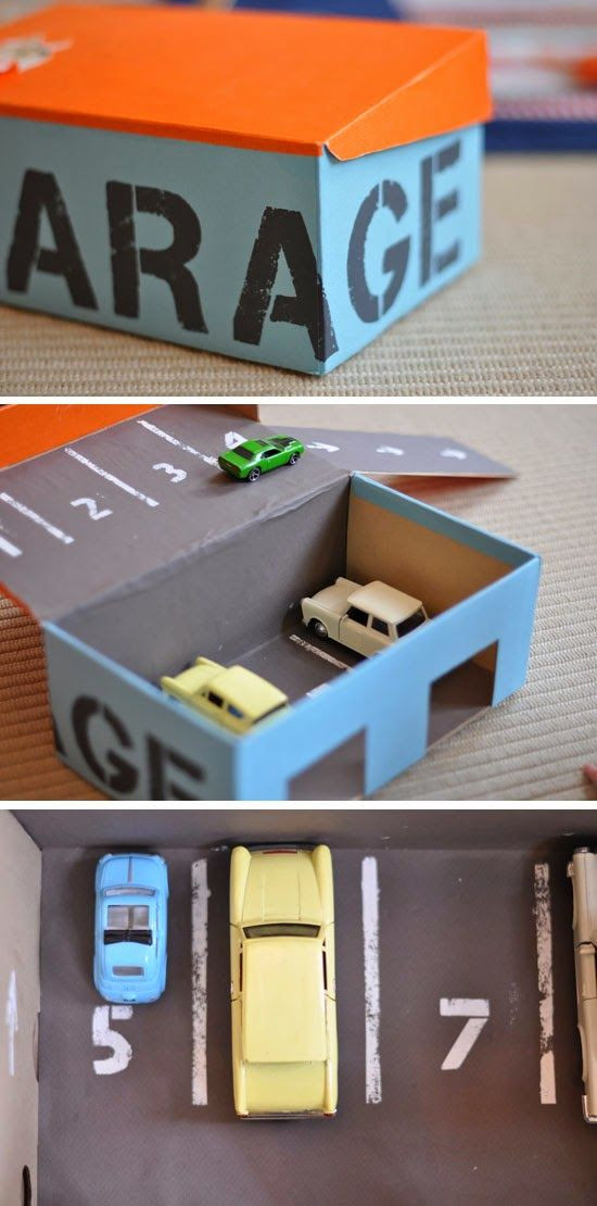 Best ideas about DIY Toy Car Garage . Save or Pin toy garage Archives Fun Crafts Kids Now.