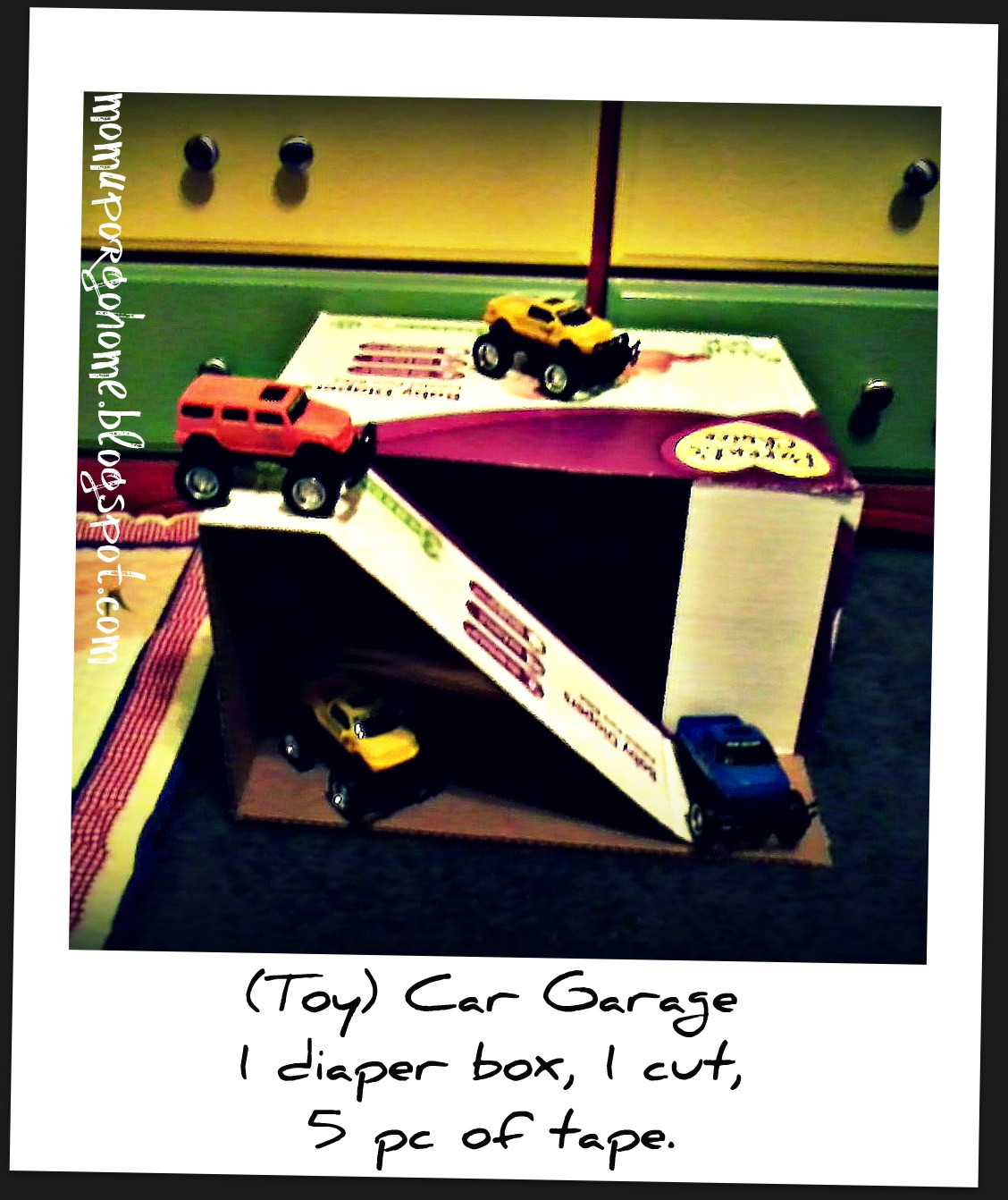 Best ideas about DIY Toy Car Garage . Save or Pin Mom Up or Go Home Toy Car Garage DIY Now.