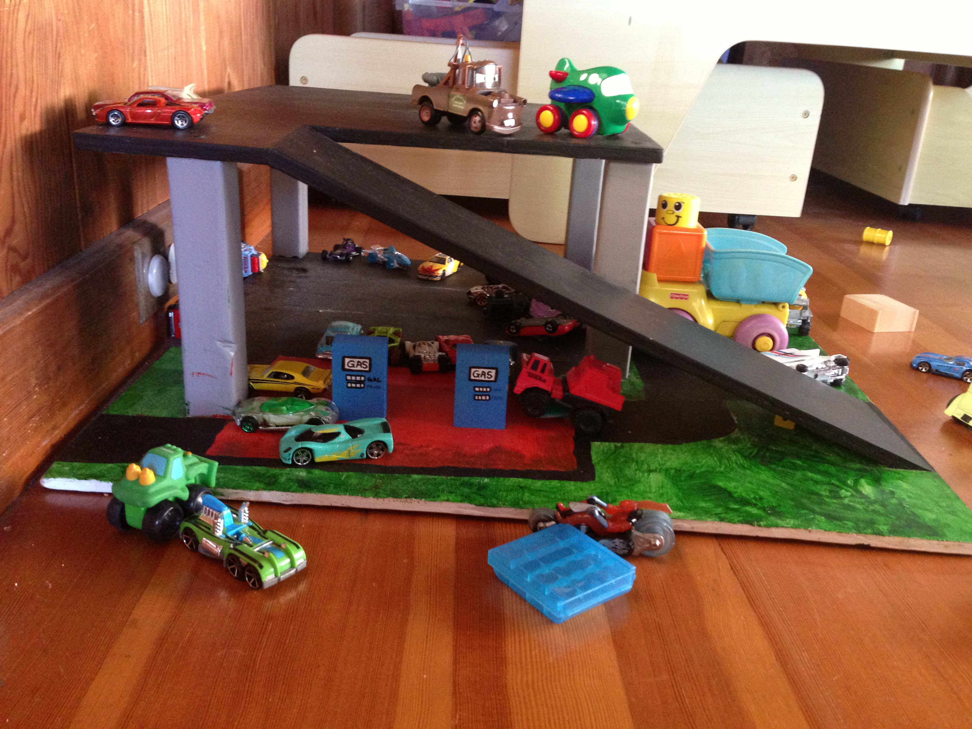 Best ideas about DIY Toy Car Garage . Save or Pin Ana White Now.