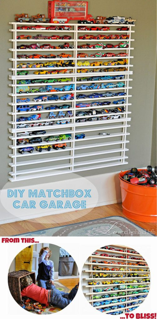 Best ideas about DIY Toy Car Garage . Save or Pin Toy Organization Ideas Now.