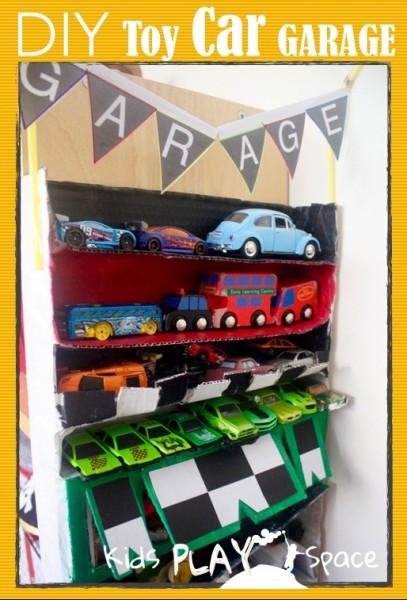 Best ideas about DIY Toy Car Garage . Save or Pin DIY Toy Car Garage Now.