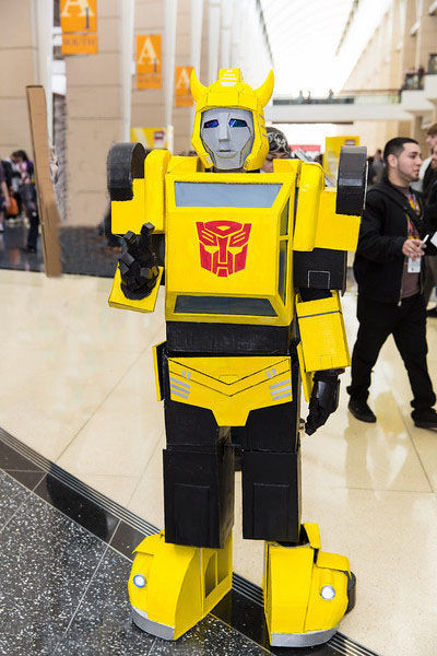 """Best ideas about DIY Transformers Costumes . Save or Pin How to Make a Transformers """"Bumblebee"""" Costume 12 Steps Now."""