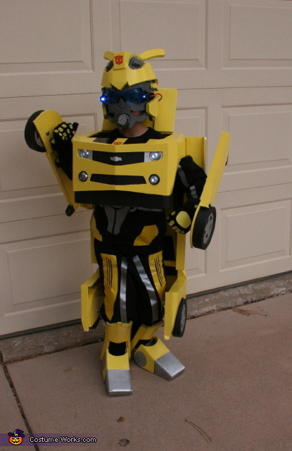 Best ideas about DIY Transformers Costumes . Save or Pin Bumblebee Transformer Costume Now.