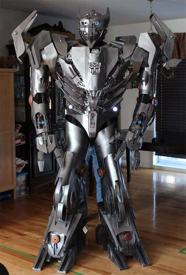Best ideas about DIY Transformers Costumes . Save or Pin Incredible Homemade Transformers Costume Now.