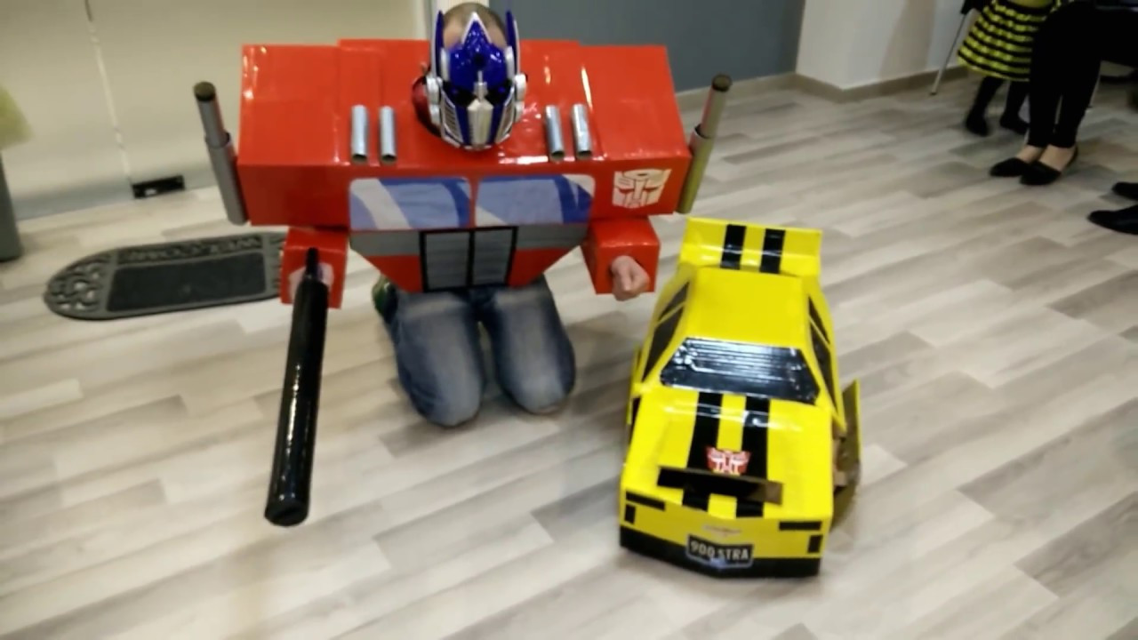 Best ideas about DIY Transformers Costumes . Save or Pin Transformers DIY costumes Bumblebee & Optimus Prime Now.