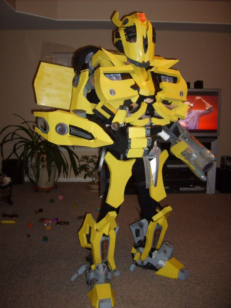 Best ideas about DIY Transformers Costumes . Save or Pin diy Transformers BumbleBee Costume Now.