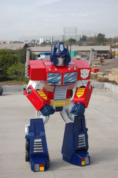 Best ideas about DIY Transformers Costumes . Save or Pin Optimus Prime Costume Now.