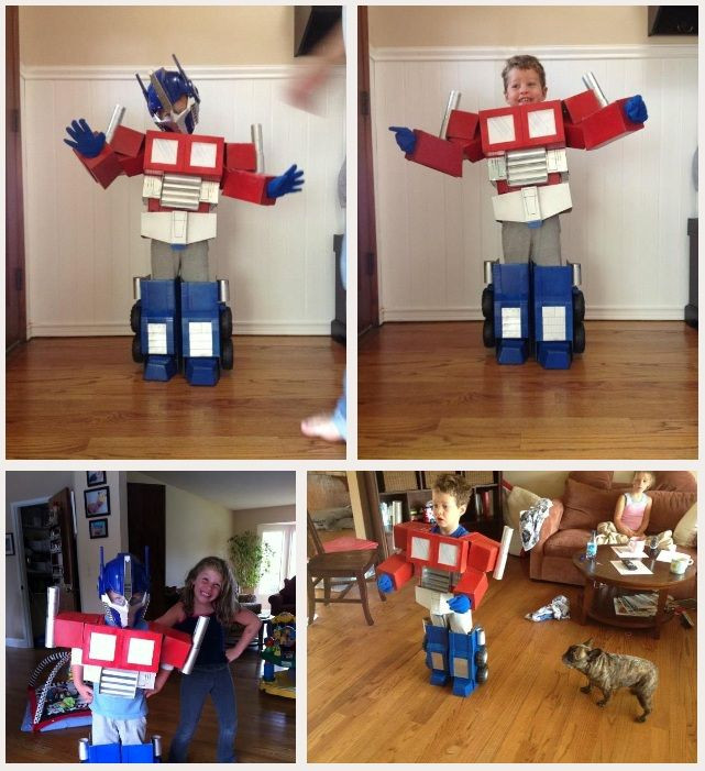 Best ideas about DIY Transformers Costumes . Save or Pin DIY Kids Optimus Prime costume Jacob saw this and now Now.
