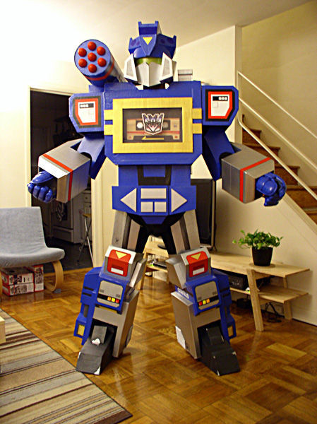 Best ideas about DIY Transformers Costumes . Save or Pin Transformers Soundwave Costume 12 Steps with Now.
